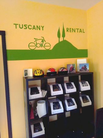 Rent your electric bicycle from us in Gaiole in Chianti, Tuscany